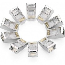 Ugreen RJ45 Cat 6 Shielding Crystal Connector 10 Pcs (1Pack)