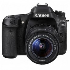 Canon EOS 80D DSLR with 18-55mm Lens Camera