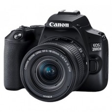 CANON EOS 200D II 24.1 MP WITH 18-55MM IS STM LENS FULL HD WI-FI DSLR CAMERA