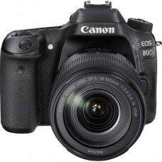 Canon EOS 80D DSLR Camera with 18-135mm IS USM Lens