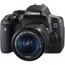 CANON EOS 750D 24.2 MP WITH 18-55MM IS STM LENS FULL HD WI-FI DSLR CAMERA