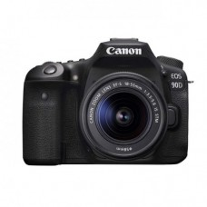 CANON EOS 90D 24.2MP DSLR Camera with 18-55MM STM Lens