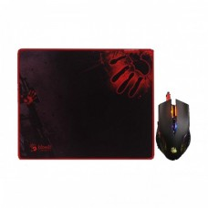 A4 Tech Bloody Q8181S Neon X Glide Gaming Mouse & Mouse Pad