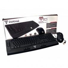 Gamdias GKC6000 ARES ESSENTIAL & OUREA Gaming Combo