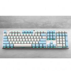 Gamdias HERMES M5 White Mechanical Gaming Keyboard