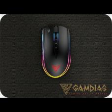 Gamdias ZEUS M2 RGB Gaming Mouse with NYX E1 Mouse Mat