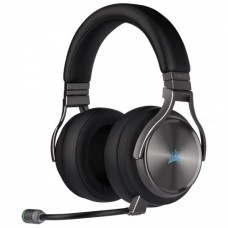Corsair Virtuoso SE High-Fidelity 7.1 Surround Sound RGB Wireless Gaming Headphone Gunmetal