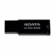 Adata UV350 64GB USB 3.2 Metal Body Pen Drive (Black)