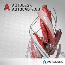 Autodesk AutoCAD 2018 Commercial New Single-user ELD Annual Subscription