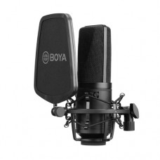 Boya BY-M1000 Multi-Pattern Large Diaphragm Condenser Microphone