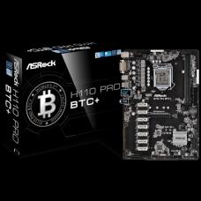 ASRock H110 Pro BTC+ DDR4 Motherboard