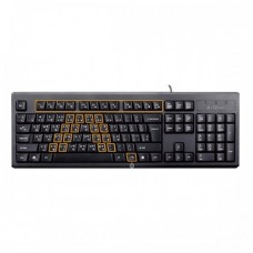 A4TECH KRS-83 Wired Multimedia Keyboard