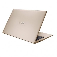 """AVITA LIBER NS13A2 Core i7 8th Gen 13.3"""" Full HD Champagne Gold Color Laptop with Windows 10"""