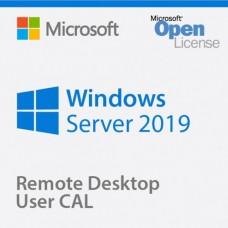 Microsoft Windows Remote Desktop Services 2019 License, 1 user CAL, Open License